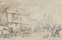 a country inn by thomas rowlandson