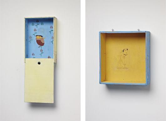 untitled peephole untitled yellow box irgr 2 works by osgemeos