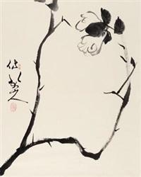 仿八大花卉 立轴 纸本 by fan zeng