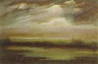 moorlandschaft by heinz dodenhoff