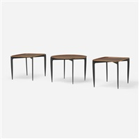 tray tables (set of 3) by engholm & willumsen