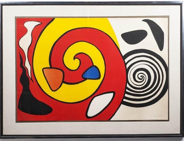 spiral and sun by alexander calder