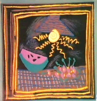 NATURE MORTE A LA PASTEQUE B. 1098 BAER 1301 by Pablo Picasso on artnet