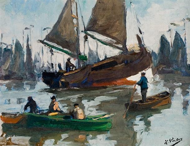 bateaux de pêche by kurt peiser