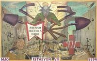 iystasion viii by manuel ocampo