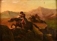 tchétchènes au galop by pierre vernet