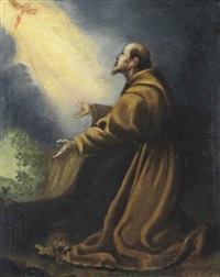 saint francis of assisi by cristofano allori