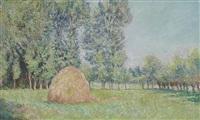 la meule, plaines des ajoux, giverny by blanche hoschedé-monet