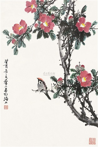 flowers and birds by qiao mu