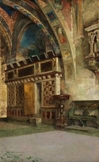 interior de la básilica de san francisco de asís by luis alvarez catalá