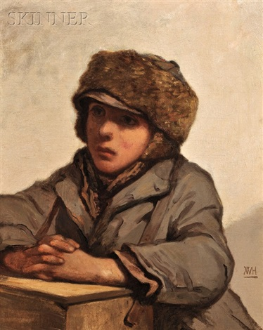 the boot black by william morris hunt