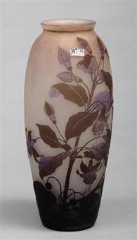 grand vase by arsall (vereinigte lausitzer glaswerke)