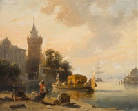 antwerp by jean (jan) michael ruyten