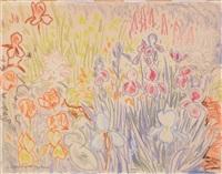 sommerliches blumenbeet by erhard hippold