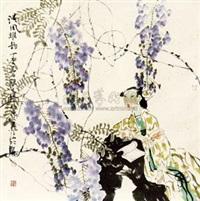 花鸟 by liang wenbo