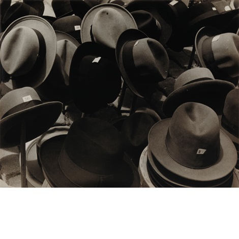 hats in the rastro madrid june 2 by carl van vechten