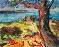 view of the french coast by jacqueline laurent