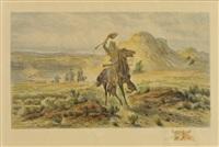 buffalo bill by william de la montagne cary