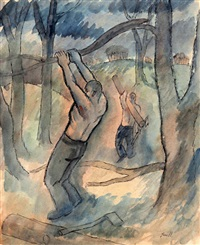 men and trees by george bissill
