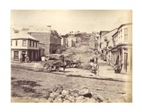 dunedin in 1860 (20 works) by william melluish