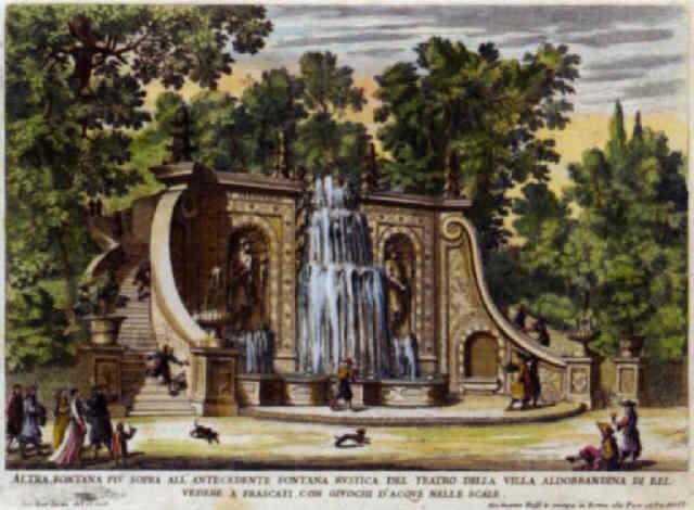 Le fontane ne palazzi e ne giardini di roma con li loro - Giardini con fontane ...