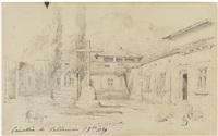 vue du cimetière de valldemosa le 5 octobre 1839 by jean-joseph-bonaventure laurens