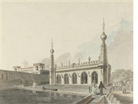 the palace of the late nabob of arcot by francis swain ward