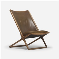 scissor chair by ward bennett