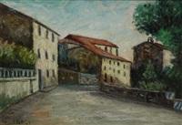strada con case by giorgio brogi