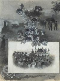 entierro del torero espartero by daniel perea y rojas