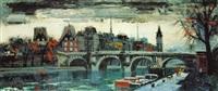 el sena en paris by federico lloveras herrera