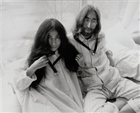 john and yoko, hilton hotel 3 (+ another; 2 works) by cor jaring