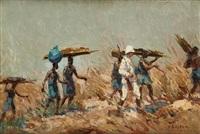expédition en afrique by alfred théodore joseph bastien