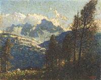 mountain view by vivian milner akers