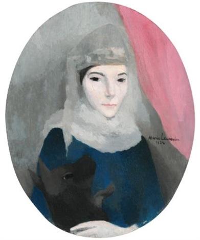 portrait de madame charles pacquement née marie ponnier by marie laurencin