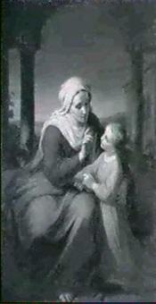 die heilige anna lehrt maria das lesen by fidelis bentele