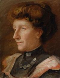 ritratto della signora malmesi by armando spadini