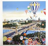 balloon race by hiro yamagata