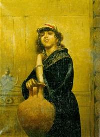 donna orientale by raffaelo armenise