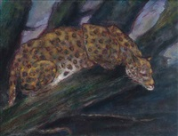 ready to pounce by cuthbert edmund swan