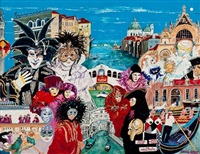 masked ball of venice by doug scott