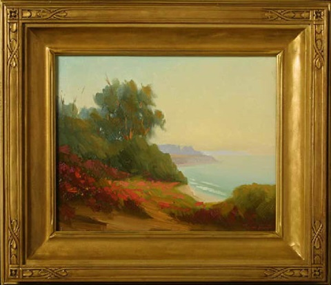 summerland coastline by joseph aaron