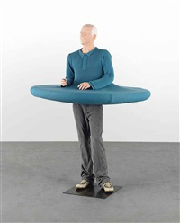 the artist who swallowed the world when it was still a disc by erwin wurm