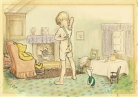 christopher robin's braces by ernest h. shepard
