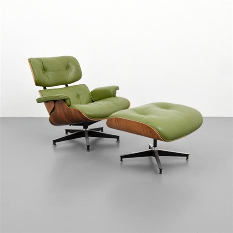 Lounge Chair Ottoman, model 670 and 671 by Charles and Ray Eames on ...