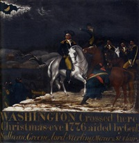 washington at the delaware by edward hicks
