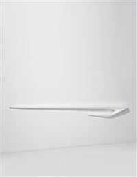 serif 4 wall shelf from the seamless collection by zaha hadid