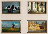 quatre scènes de guerre (4 works) by kurt peiser