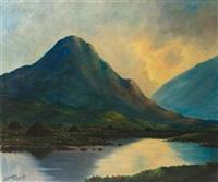 connemara sunset by douglas alexander