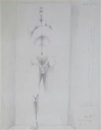 emerging figure ii by michael ayrton